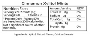 cinnamon_mints_nutrition_facts